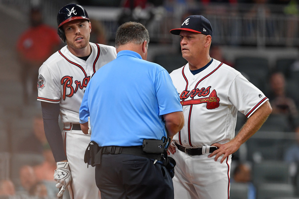 Freeman will reportedly miss at least eight weeks Just when Freddie Freeman  was playing the best baseball of his career, this h